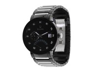 Bulova Men's 98D109 Stainless Steel Band Black Face Watches