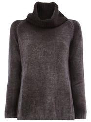 Avant Toi Roll Neck Jumper Grey