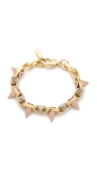 Joomi Lim Luxe Spike Bracelet Gold Rose Gold Silver