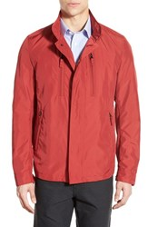 Men's Sanyo Fashion House 'Parker' Water Resistant Jacket Red