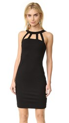 L'agence Gemma Cutout Strap Dress Black