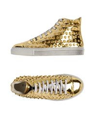 Gienchi Footwear High Tops And Trainers Women Gold