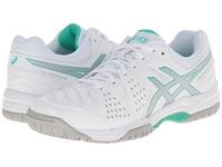 Asics Gel Dedicate 4 White Silver Mint Women's Shoes