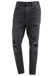 G Star Gstar Type C 3D Super Slim Slim Fit Jeans Scaal Grey Superstretch Destroyed Denim