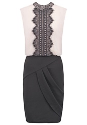 Lipsy Cocktail Dress Party Dress Nude Black