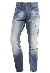 Superdry Biker Straight Leg Jeans Quarry Destroyed Denim