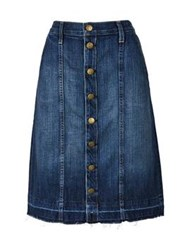 Current Elliott The Short Sally Skirt Blue