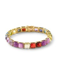 18K Rock Candy Tennis Bracelet In Fall Rainbow Black Ippolita