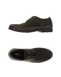Swims Lace Up Shoes Cocoa