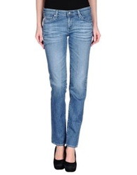 Ag Adriano Goldschmied Denim Pants Blue