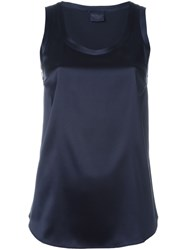 Brunello Cucinelli Sleeveless Top Blue