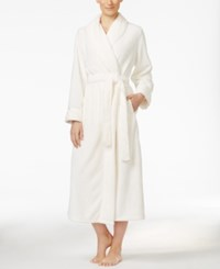 Charter Club Super Soft Textured Long Robe Only At Macy's Angel White