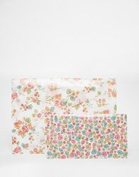 Cath Kidston Set Of 2 A4 Printed Wallets Multi