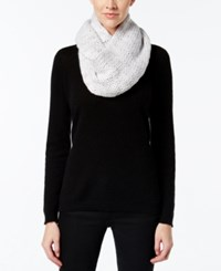 Bcbgeneration Thick And Thin Infinity Loop Scarf A Macy's Exclusive Style Grey Mist
