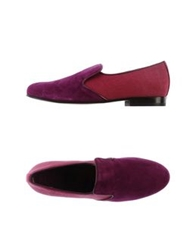 C.B. Made In Italy Moccasins Purple