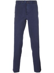 Pt01 Tapered Trousers Blue