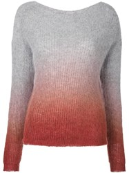 Roberto Collina Degrade Jumper Grey