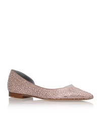 Gina Rosaline Diamante Flat Female Light Pink