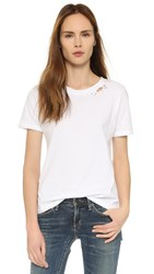 Prince Peter Distressed Tee White
