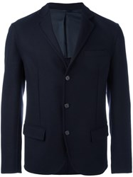 Ermanno Scervino Three Button Blazer Blue