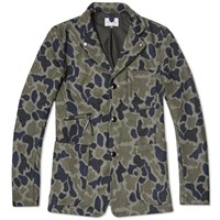 Spellbound Engineers Jacket Grey Wool Camo