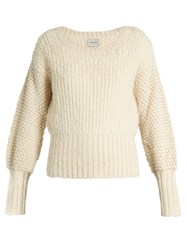 Rachel Comey Sylvan Knitted Sweater Ivory