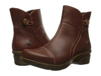Keen Mora Mid Button Barley Women's Shoes Brown