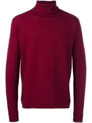 Libertine Libertine 'Tame' Roll Neck Jumper Red
