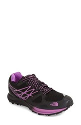 The North Face Women's 'Ultra Cardiac' Trail Running Shoe Black Sweet Violet