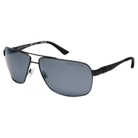 Polo Ralph Lauren Ph4085 Rectangular Sunglasses Matte Black