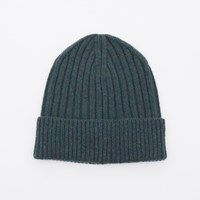 Hartford Forest Green Rib Hat