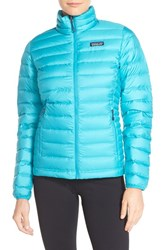 Patagonia Women's Packable Down Sweater Jacket Epic Blue