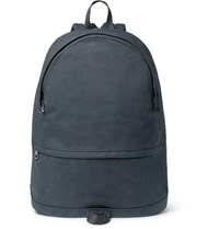 A.P.C. Stefan Brushed Cotton Backpack Blue