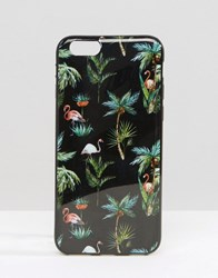 Signature Tropical Flamingo Iphone 6 Case Black