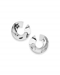 Ippolita 925 Senso And 153 Open Wavy Disc Earrings