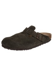 Birkenstock Boston Sandals Mocca Stone