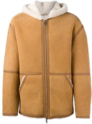 Alexander Wang Hooded Jacket Nude Neutrals