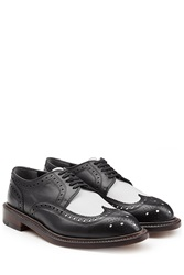 Robert Clergerie Two Tone Leather Brogues Black