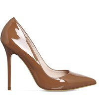 Office Onto Patent Leather Courts Mocha Patent Leather