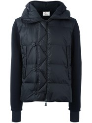 Moncler Grenoble Padded Front Hoodie Black