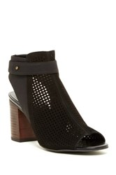 14Th And Union Tracey Perforated Ankle Strap Pump Black