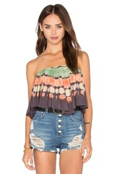 Blue Life Wildest Dreams Top Brown