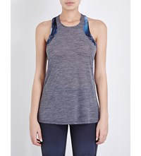 Sweaty Betty Kick Run Jersey Top Grey Marl
