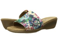 Aerosoles Badminton Pink Floral Women's Slide Shoes