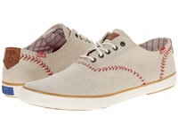 Champion Vintage Baseball Linen Natural Men's Lace Up Casual Shoes Beige