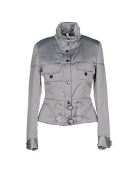 Tru Trussardi Jackets Light Grey