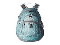 High Sierra Bts Fat Boy Backpack Mint Leopard Ash White Backpack Bags Blue