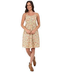 Roper 9756 Coral Ditsy Floral Printed Sun Dress Red Women's Dress
