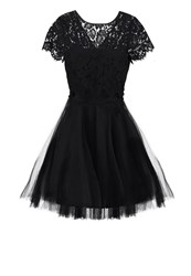 Derhy Gotha Cocktail Dress Party Dress Black Black