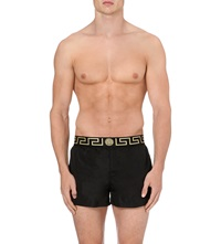 Versace Iconic Swim Shorts Black Gold